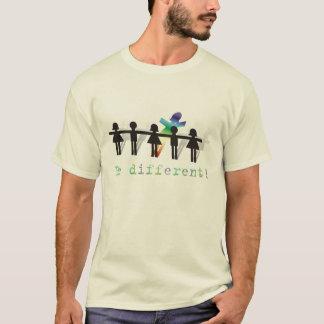 Seja diferente! camiseta