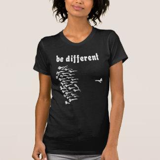 Seja esperma diferente t-shirts