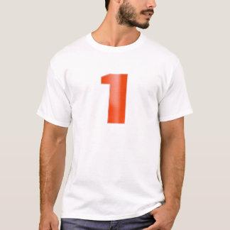 Seja o NÚMERO UM - mantenha a associação direita Camiseta