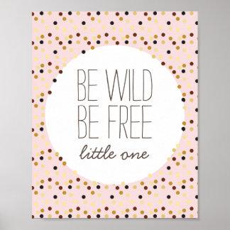 Seja selvagem, seja decoração livre da parede do