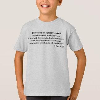 Seja YE unido não desigual 2 6:14 do núcleo T-shirt