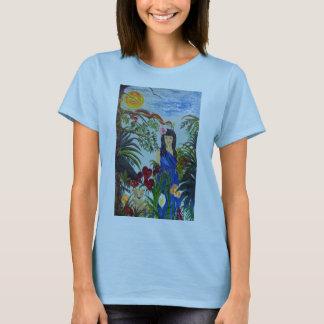 Selva de Rima e de leopardo T-shirt