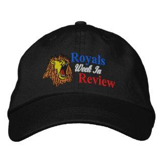 Semana dos Royals no boné da revisão