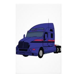 Semi caminhão papelaria