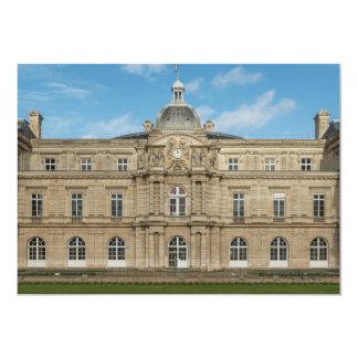 Senado francês Paris France do palácio de Convite