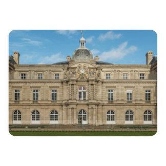Senado francês Paris France do palácio de Convites