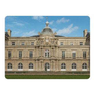"""Senado francês Paris France do palácio de Convite 16.51"""" X 22.22cm"""