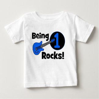 Sendo rochas 1! O primeiro aniversario do bebê Tshirts
