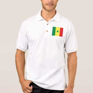 senegal t-shirt polo