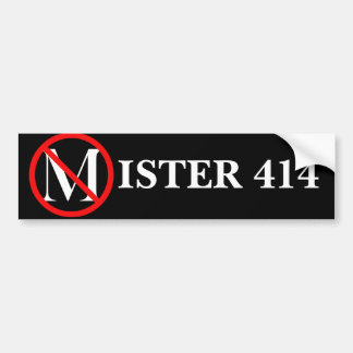 Senhor 414 adesivo para carro