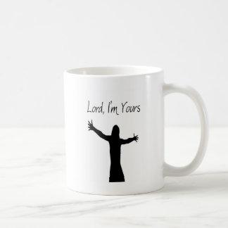 Senhor, eu sou seu caneca de café