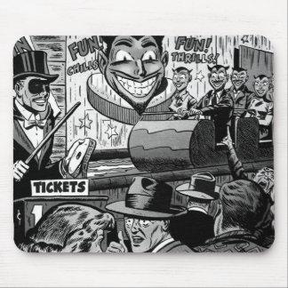 Senhor Mistério da banda desenhada do vintage do k Mouse Pad