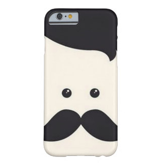 Senhor Moustache! Capa Barely There Para iPhone 6