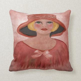senhora travesseiros de decoração