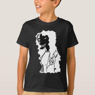 Senhora assustador tshirt
