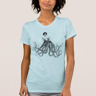 Senhora Camisa do polvo T-shirts
