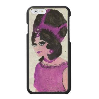 Senhora cor-de-rosa capa carteira incipio watson™ para iPhone 6