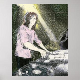Senhora DJ Posteres