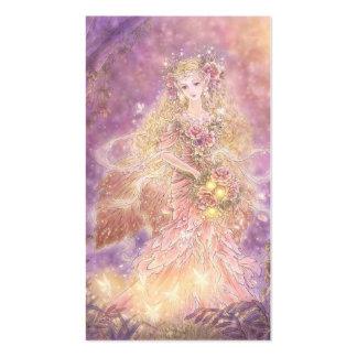 Senhora do cartão de visita da arte da fantasia da