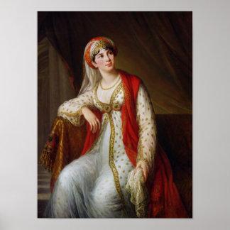 Senhora Guiseppina Grassini no papel de Poster
