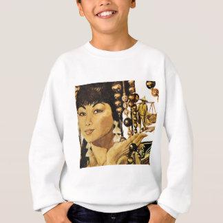 Senhora oriental do vintage t-shirts