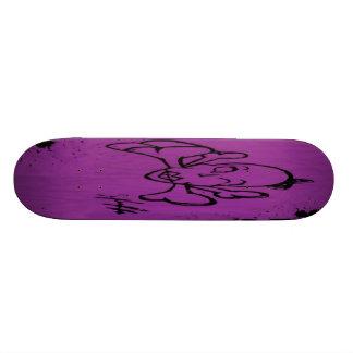 Senhora Osso (roxo) Shape De Skate 21,6cm