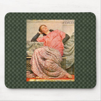Senhora Romano Tempo Mousepad do vintage