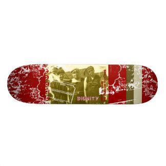 Senhoras da costa shape de skate 20cm