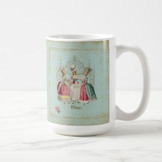 Senhoras de Paris do francês de Marie Antoinette Caneca