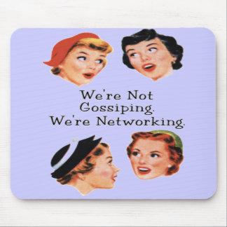 Senhoras engraçadas engraçadas mouse pads