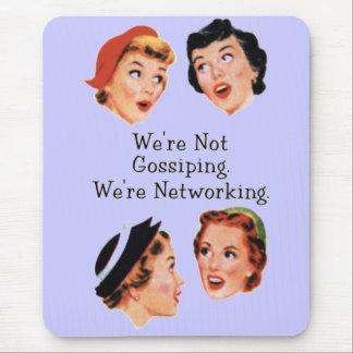 Senhoras engraçadas engraçadas mouse pad