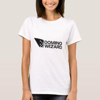 Senhoras T do feiticeiro do dominó Camiseta