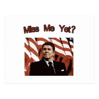 Senhorita Me Ainda?  Reagan Posterized Cartão Postal