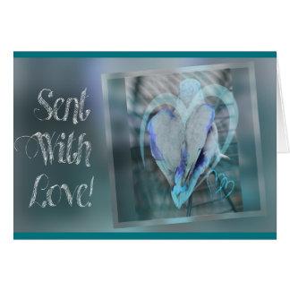 Sent With Love Cartão
