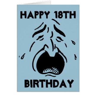 Sentido de humor, 18o cartão de aniversário feliz