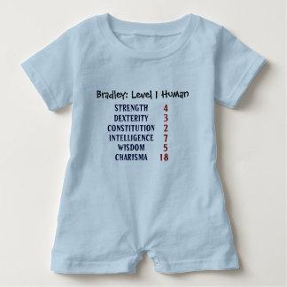Ser humano do nível 1 personalizado tshirts