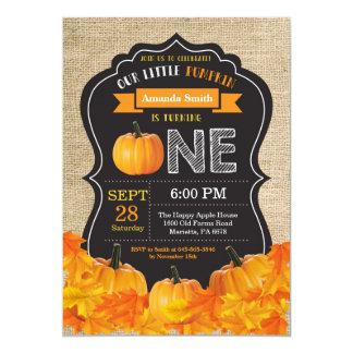 Serapilheira da laranja do convite do aniversário