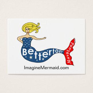 Sereia de Betterton em ImagineMermaid.com Cartão De Visitas