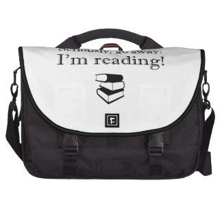 Seriamente, parta: Eu estou lendo!