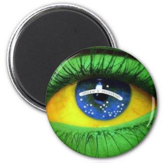 Serie Brasil Ímã Redondo 5.08cm