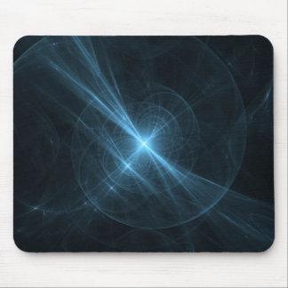 Série contínua de espaço tempo mouse pad