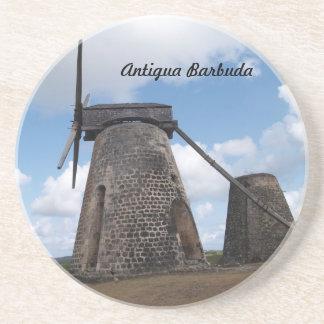 Série de Antígua Barbuda--Porta copos da esperança Porta Copos De Arenito