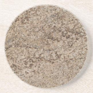Série de mármore--Porta copos de Brown Tan--1 de m Porta Copos De Arenito