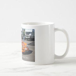Série do carro da reunião - 02 Porche 911 Caneca De Café