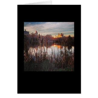 Série icónica de New York: Cartão do Central Park