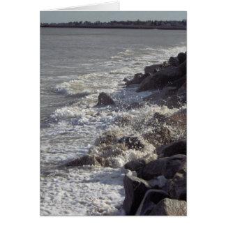 Série litoral #1 da beleza de Maine Cartão De Nota