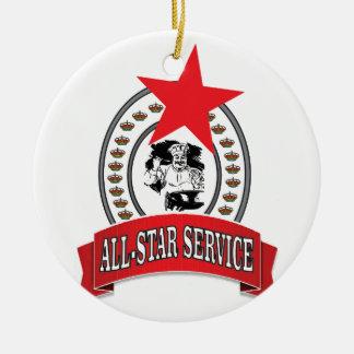 serviço All-star real Ornamento De Cerâmica