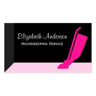 Serviço cor-de-rosa e preto do vácuo feminino das