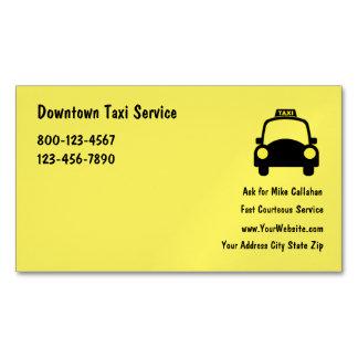 Serviço do táxi