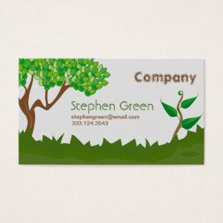 Serviços de jardinagem cartão de visitas